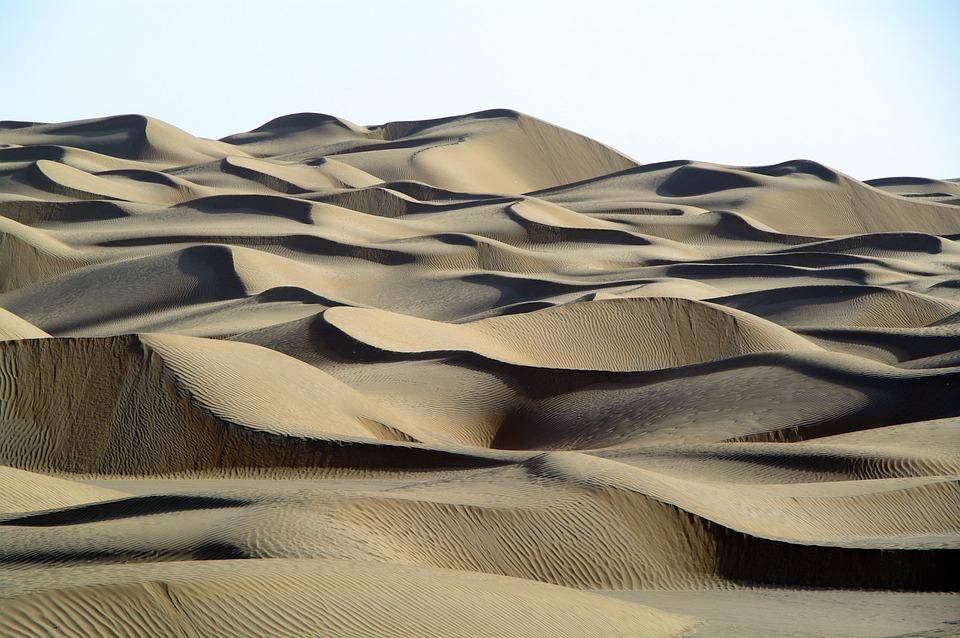 9. Taklamakan Desert - 270,000 km2