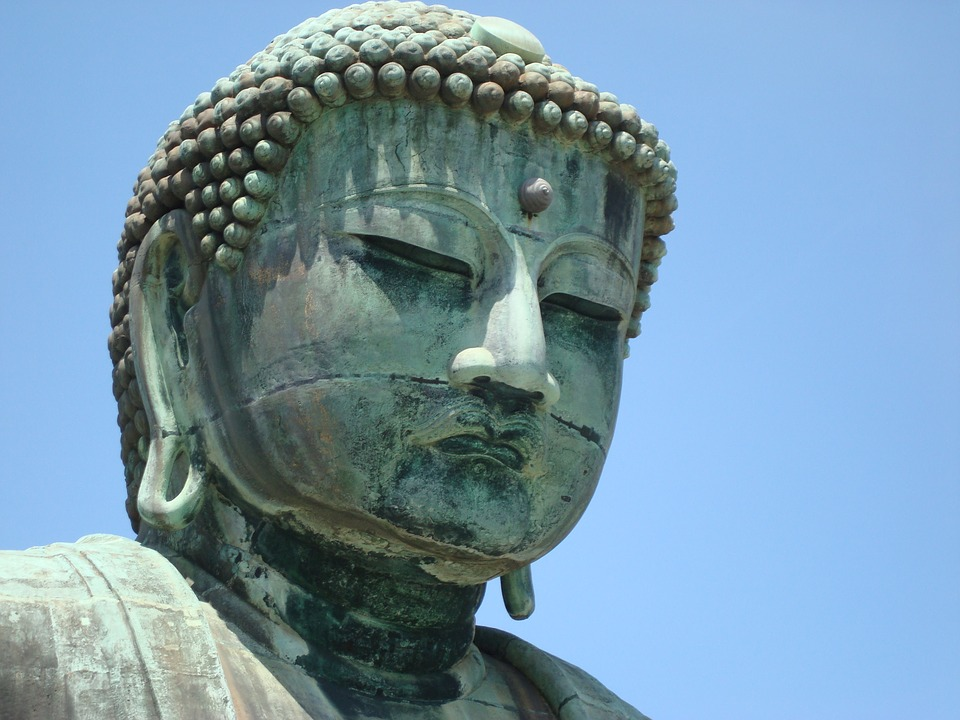 9. The Buddha of Daibutsu in Japan