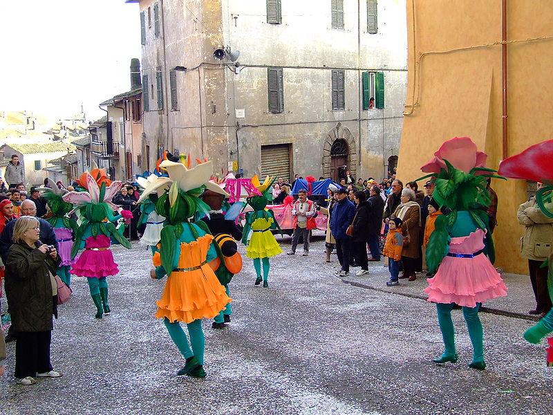 Carnival of Ronciglione, Lazio