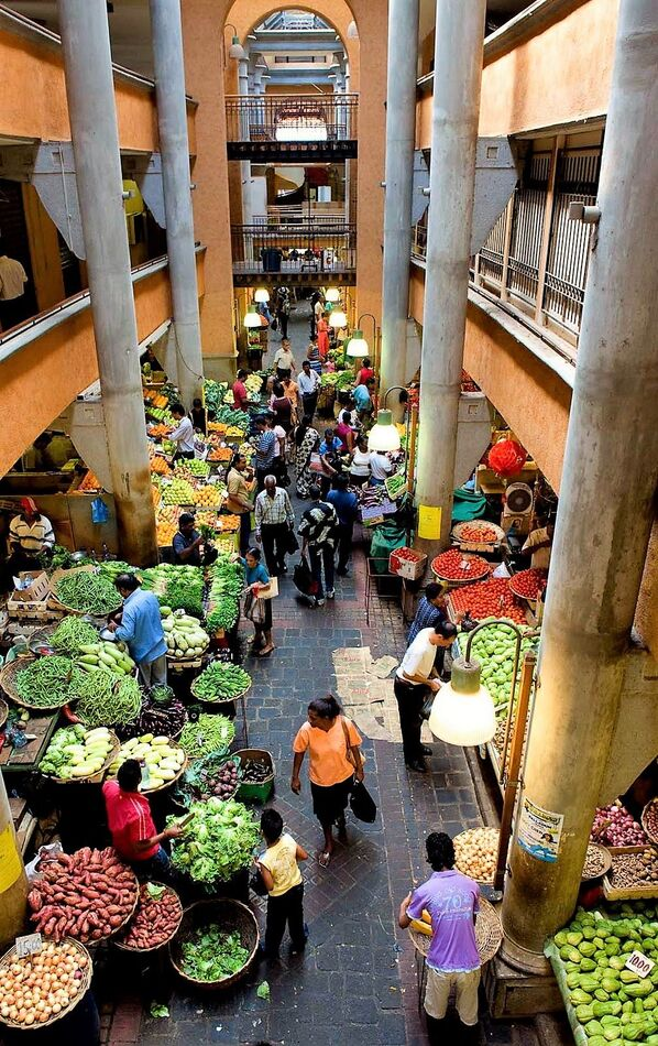 Central Market of Port Luis