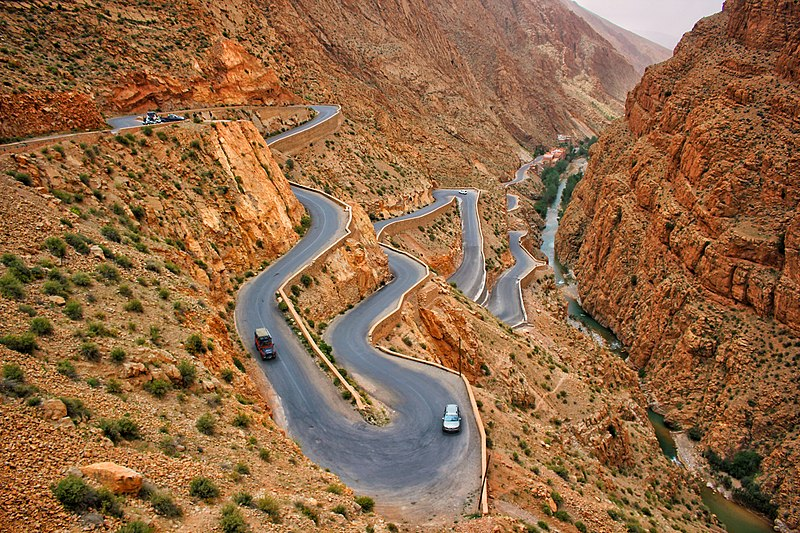 Gorges of Dades, Morocco