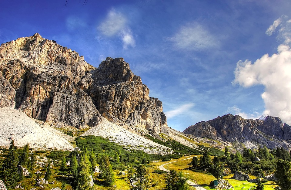 Road from Cortina to Selva, Veneto - Trentino-Alto Adige