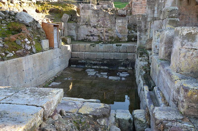 Fordongianus Baths, Southern Italy