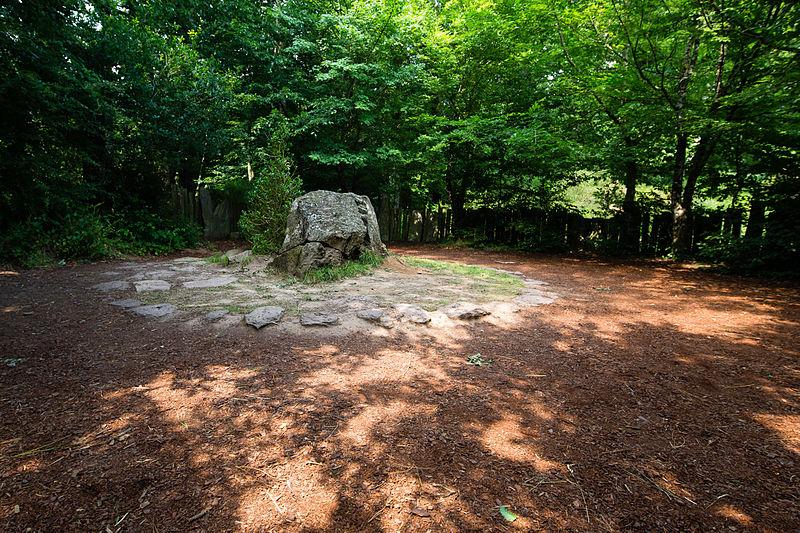 Forêt de Paimpont, France