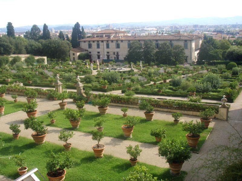 Gardens of the Medici Villa of Castello, Florence