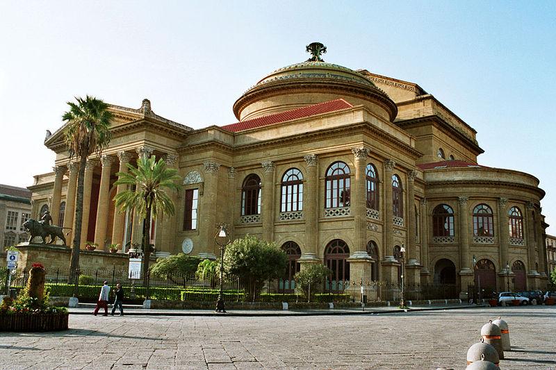 Massimo Vittorio Emanuele Theater, Palermo, Italy