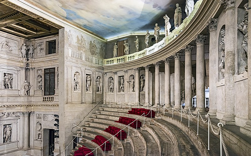 Olympic Theater, Vicenza, Italy