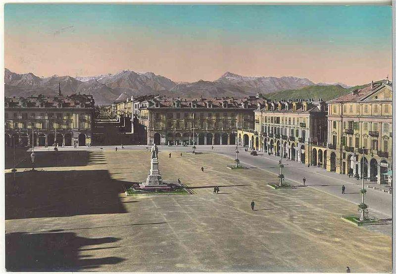Piazza Duccio Galimberti, Cuneo