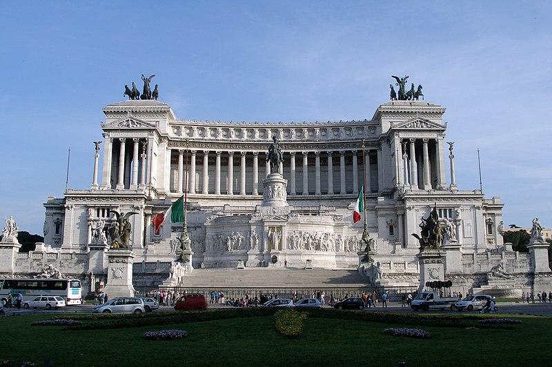Piazza Vittorio Emanuele II, Rome
