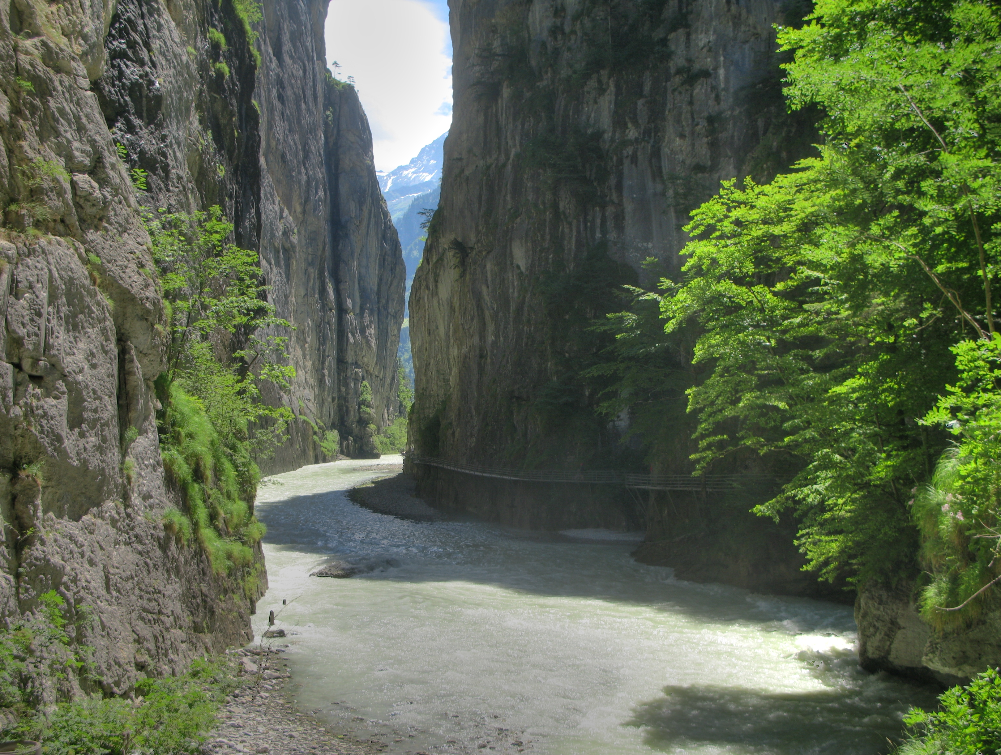 17- The Aare Gorge