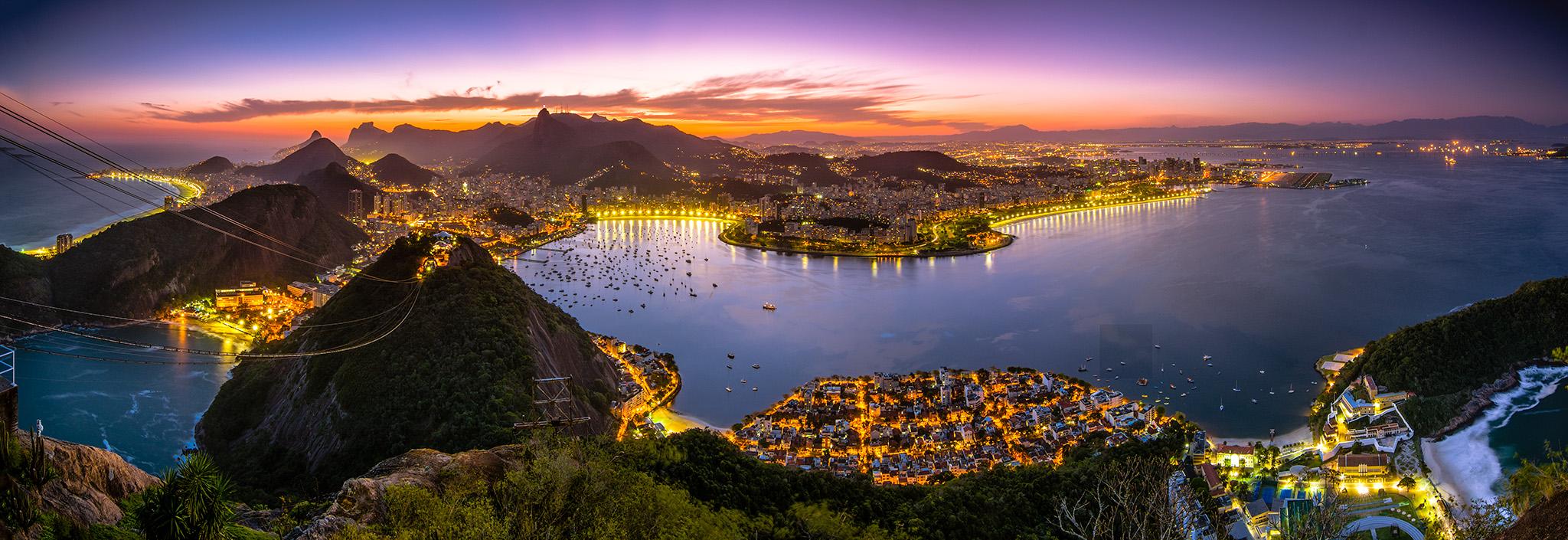 3- Guanabara Bay (Brazil)