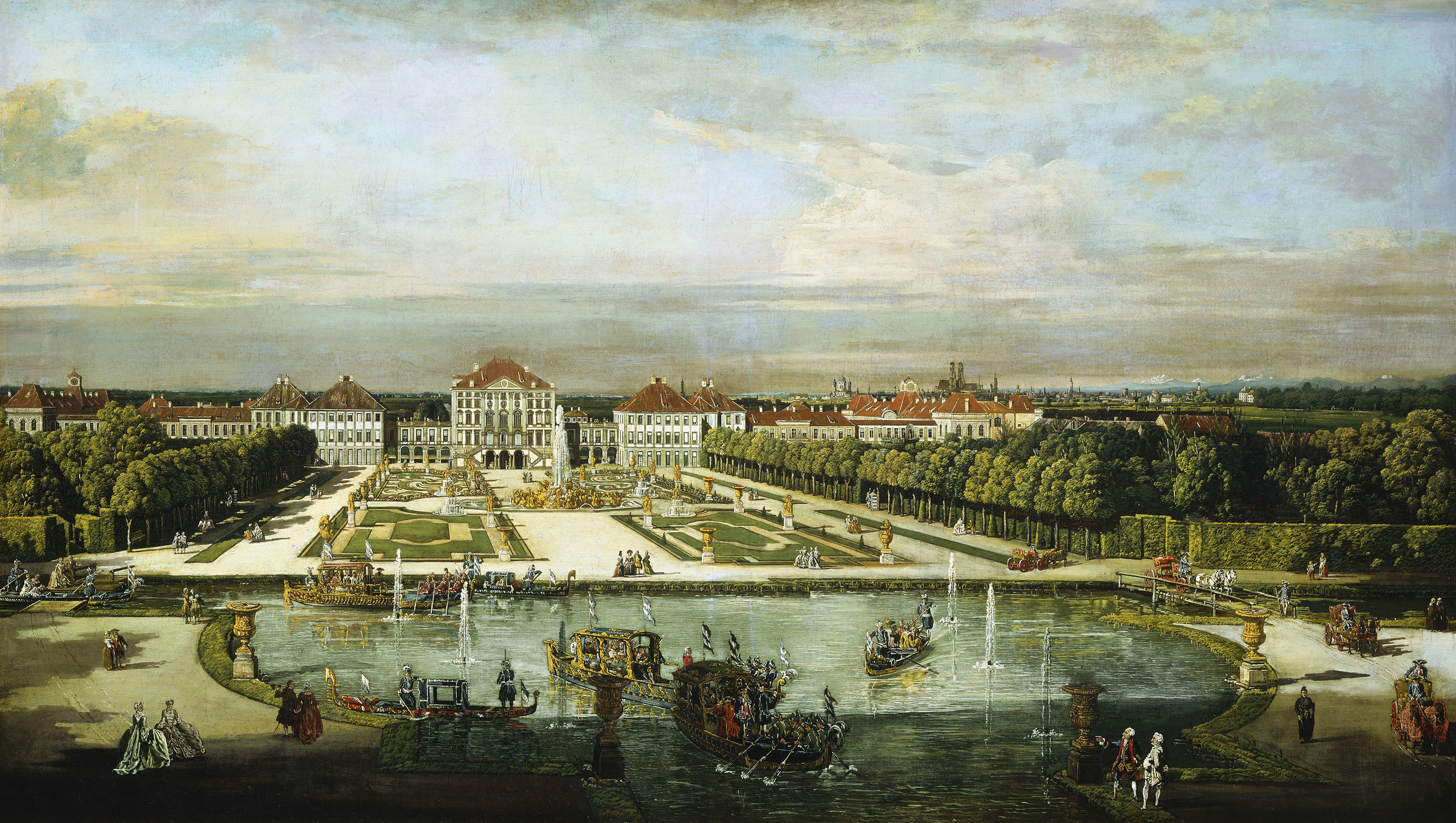 6- The Renowned Nymphenburg Palace