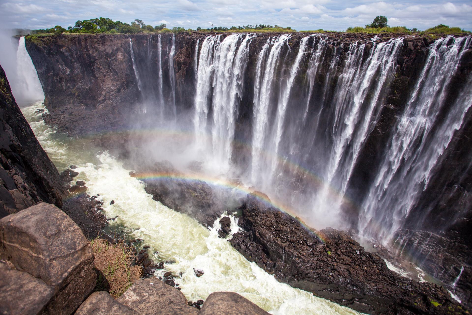 7- Victoria Falls (Zambia and Zimbabwe)