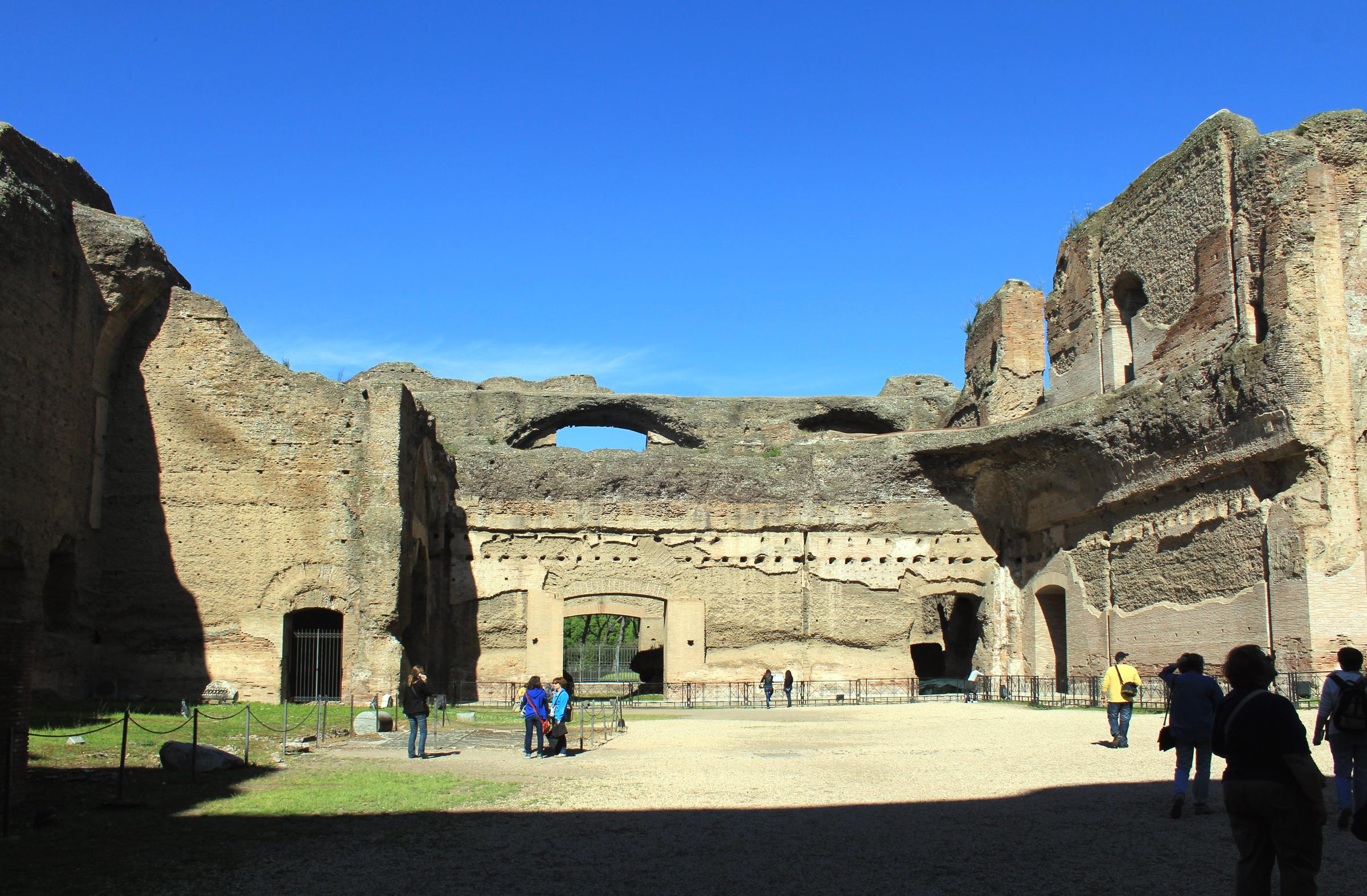 File:Bath of Caracalla Rome 2011 3.jpg - Wikimedia Commons