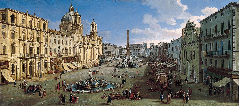 File:Caspar van Wittel - Piazza Navona, Rome - Google Art Project.jpg - Wikimedia Commons