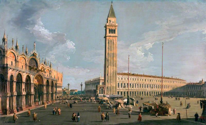 File:Canaletto - The Piazza di San Marco, Venice, c.1734–1735.jpg - Wikimedia Commons
