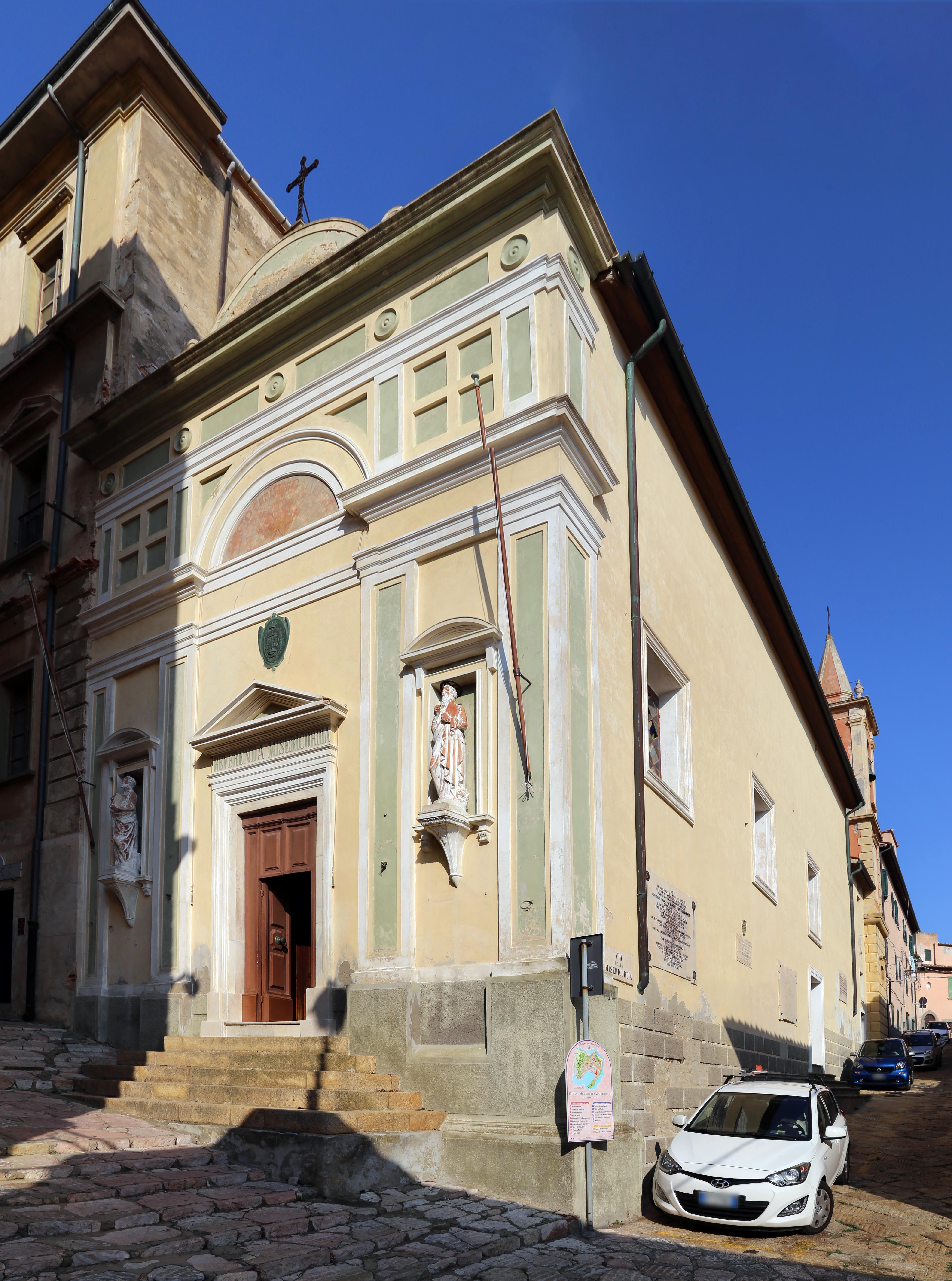 File:Portoferraio, chiesa della misericordia (san cristino), esterno 01.jpg - Wikimedia Commons