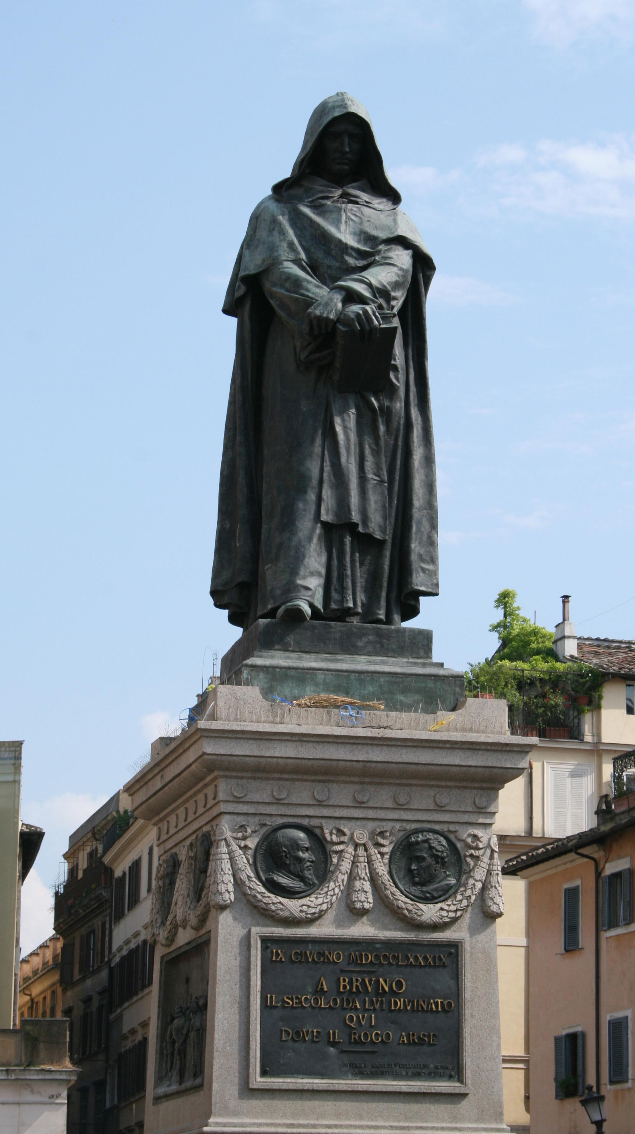 File:Rome statue Giordano Bruno Campo dei Fiori.jpg - Wikimedia Commons