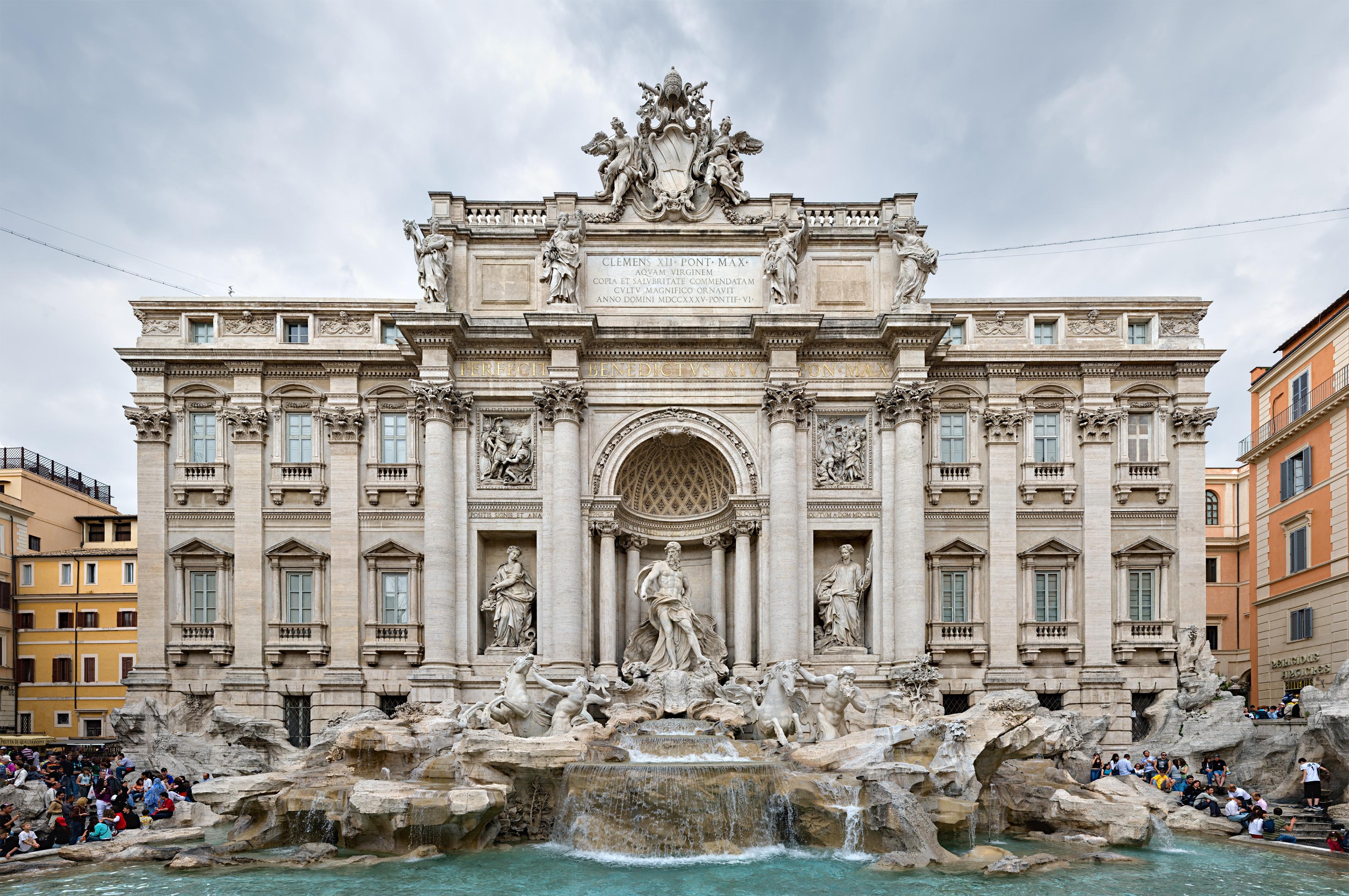 File:Trevi Fountain, Rome, Italy 2 - May 2007.jpg - Wikimedia Commons